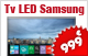 TV LED Samsung 4K 121 cms