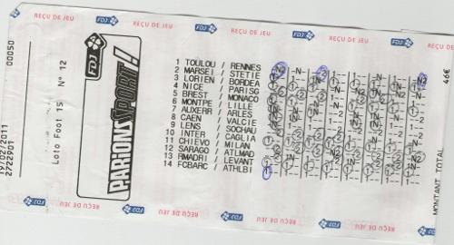 Gros gagnants au loto foot - Loto foot 7 15 grille et pronostic ...