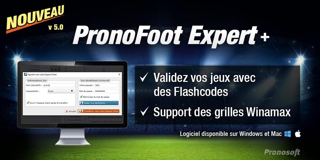 Pronofoot Expert Plus Logiciel Lotofoot Pronosoft Com