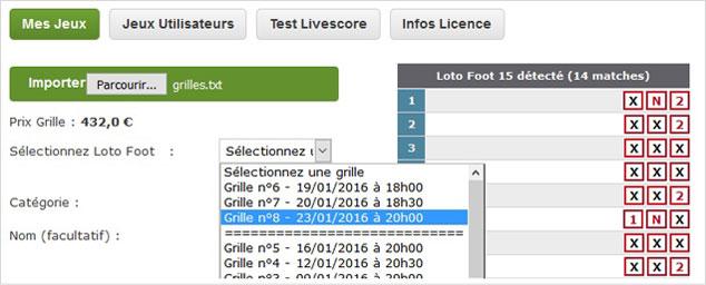 Pronosoft lotofoot - Pronostic loto foot prochaine grille ...