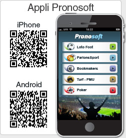 application iPhone et Android Pronosoft