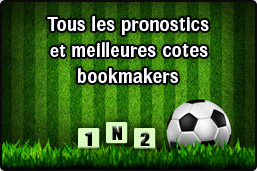 Pronostics Bookmakers 1N2, Under, Over