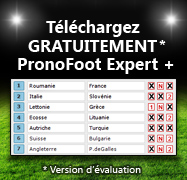 PRONOSOFT SPORT TÉLÉCHARGER PARIONS